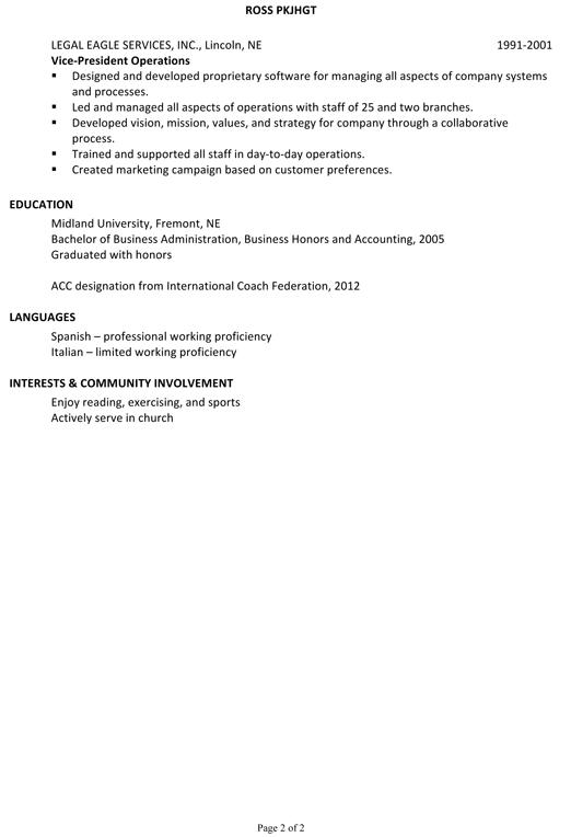 วิธีเขียน resume ภาษาอังกฤษ