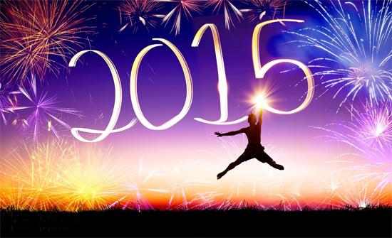 คำอวยพรปีใหม่ 2015 ภาษาอังกฤษ
