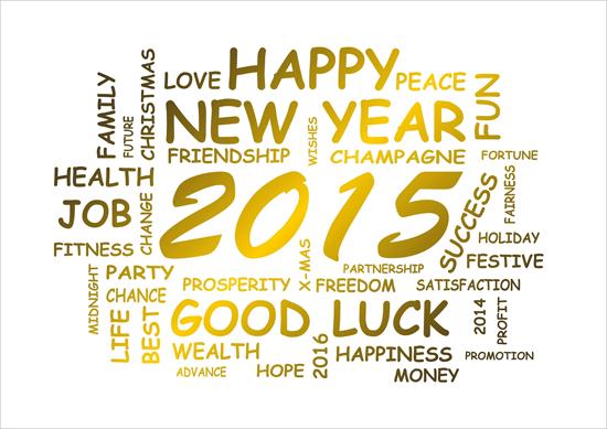 Happy New Year 2015 ภาษาอังกฤษ