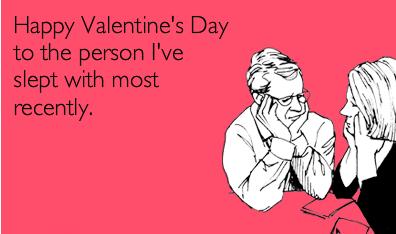 การ์ด happy valentine ตลก